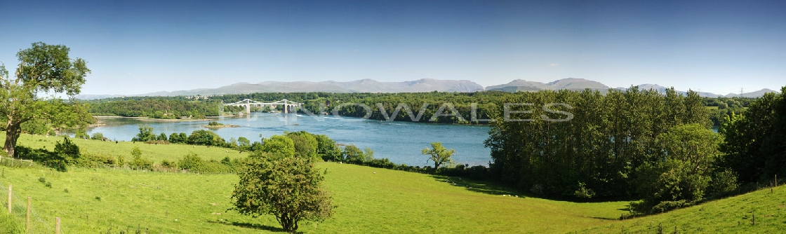The Menai Suspension Bridge and The Swellies