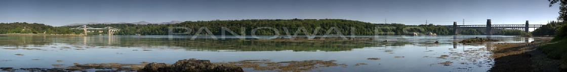 The Two Bridges and the Swellies, Menai Strait
