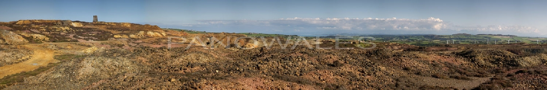 Parys Mountain Copper Mine, Amlwch, Anglesey
